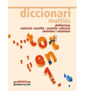 DICCIONARI MULTIUS DEFINICIONS VALENCIA-CASTELLA/CASTELLA-VALENCIA