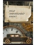 (Postal) Feliz aniversario papa!