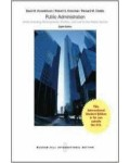 Public Administration: Understanding Management, Politics and Law in the Public
